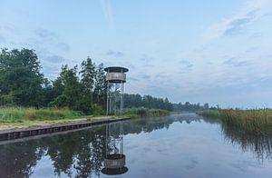 Uitkijktoren in de Wieden van