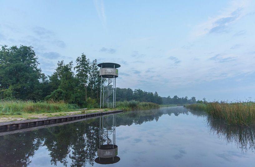 Uitkijktoren in de Wieden van Remco Van Daalen
