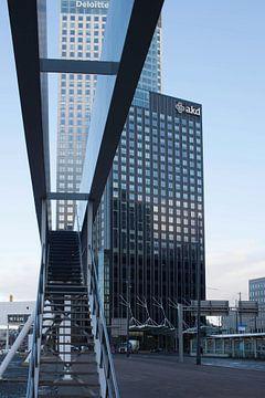 Linienperspektive in Rotterdam von Laurens van Eijndthoven