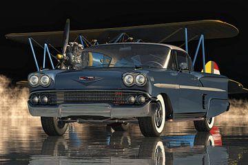 Chevrolet Impala Spezial-Sportcoupé von 1958 von Jan Keteleer