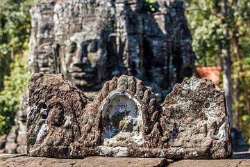 Buddhas im Angkor Thom Tempel