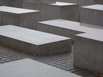 Joods monument Berlijn van Pieter Boogaard