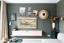 Klantfoto: Paardebloem pluis, Dandelion (gezien bij vtwonen) van Marion Moerland, op staal