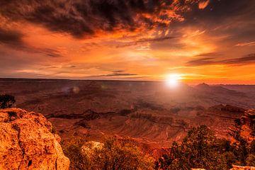 Zonsopkomst Grand Canyon van