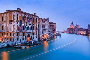 Zonsondergang in Venetië