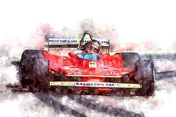 Gilles Villeneuve, F1 von Theodor Decker