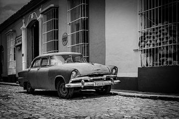 Klassieke auto van Anita Loos