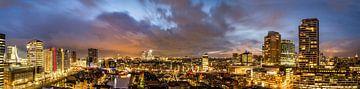 panorama Rotterdam von Rob van de Graaf