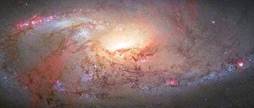 Hart van een sterrenstelsel