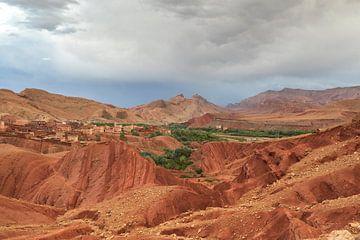 Ouarzazate - Ait Ouassif (Marokko) von Marcel Kerdijk