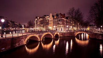 Grachten Amsterdam von Dennis Wierenga