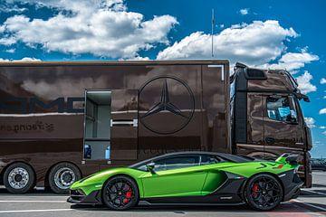 Lamborghini Aventador SVJ van Bas Fransen