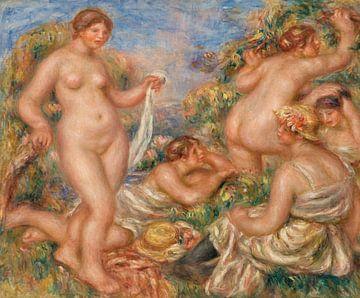 Renoir, Komposition, Fünf Badende (1917-1919) von Atelier Liesjes