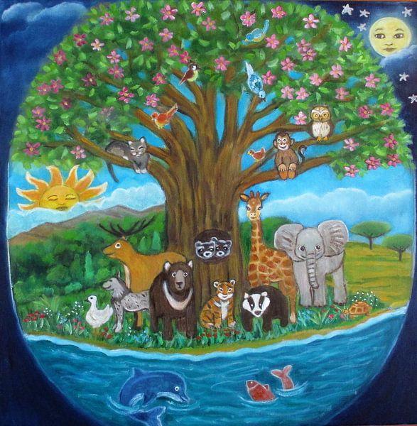 De boom van het leven. van Gloria Gill