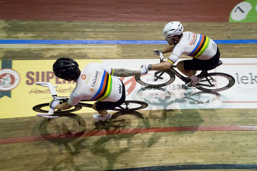 Bradley Wiggins en Mark Cavendish 2