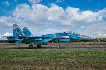 Sukhoi SU-27 Flanker van Patrick Vercauteren