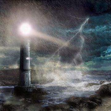 Sturm an der Küste von Uwe Frischmuth