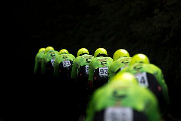 Groene sport van Captured. NL