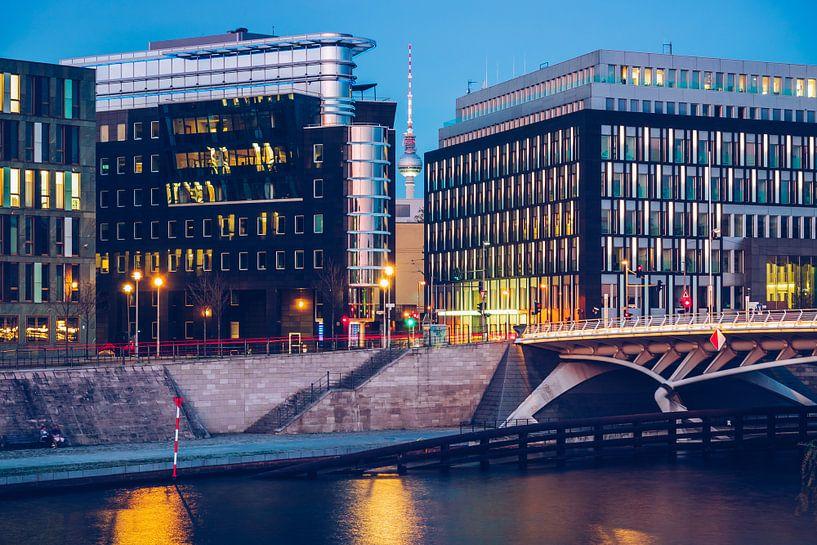 Berlin – Kapelle-Ufer / Kronprinzen Bridge van Alexander Voss