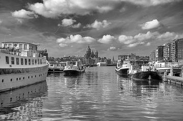 Prins Hendrikkade Amsterdam von Peter Bartelings Photography