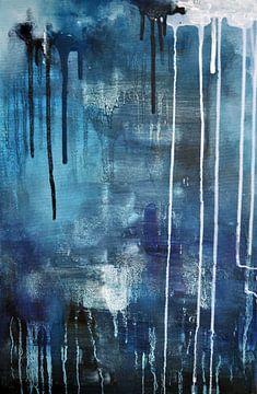 Blauer Regen von Maria Kitano