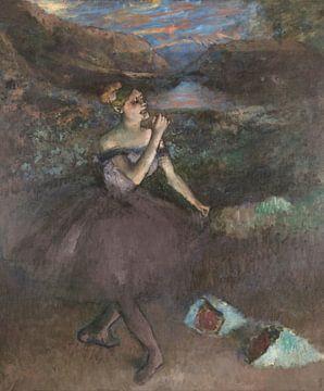 Tänzerin mit Sträußen, Edgar Degas