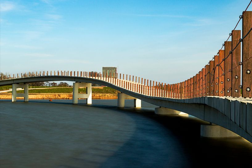 Zaligebrug in aanbouw von Maerten Prins