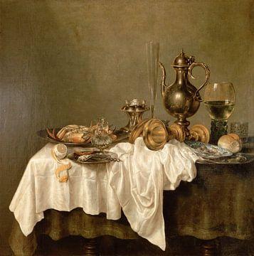 Frühstück mit Krabben, Willem Claesz. Heda,