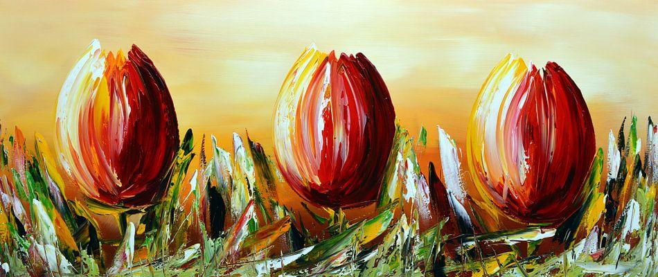 Tulpen van Gena Theheartofart