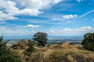 Prachtig Uitzicht Op De Bergtop