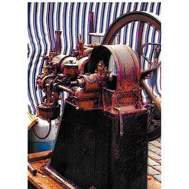 Stoommachine von Arie Van Garderen