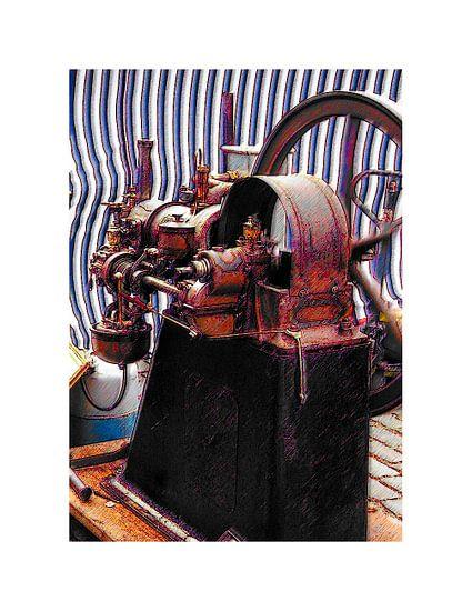 Stoommachine van Arie Van Garderen