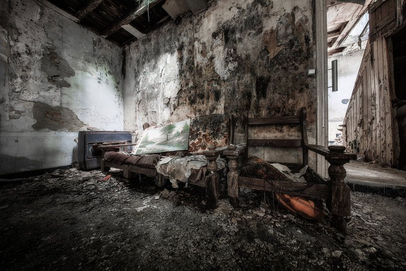 Verlaten plekken: Locatie Laundry Day van Steven Dijkshoorn