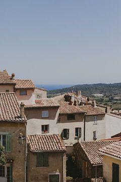 Oude huizen in Ramatuelle Frankrijk