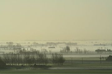 Koeienmist over de poldervlakte  von Johan Töpke