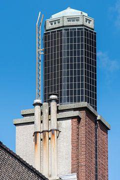 Art Deco Tower of the Schiedam Passage (Galleria) sur Jan Sluijter