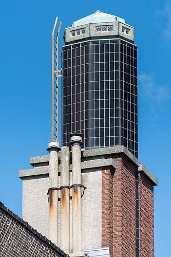 Toren van de Passage in Schiedam van