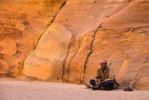 Werker bij Petra