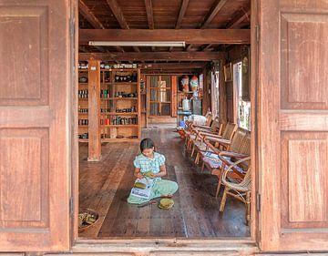 Myanmar: Omgeving Phaung Daw Oo (Nan Pan) van Maarten Verhees