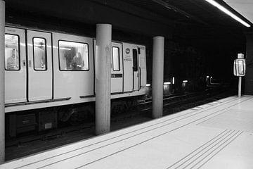 Metro in Barcelona von Maren Oude Essink