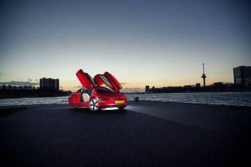 Volkswagen XL1 sur Sytse Dijkstra