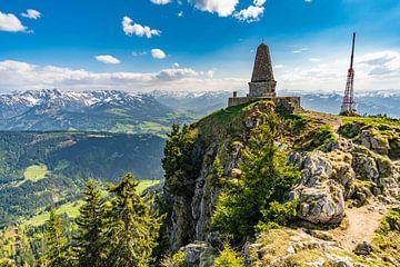 Uitzicht vanaf de Grünten in Allgäu van MindScape Photography