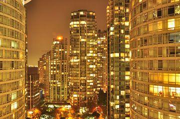 Vancouver am Abend von Lucie Lindeman