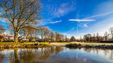 Bevroren Koningspark in Raamsdonksveer von Thomas van der Willik
