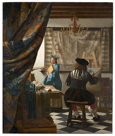 Johannes Vermeer. The Art of Painting