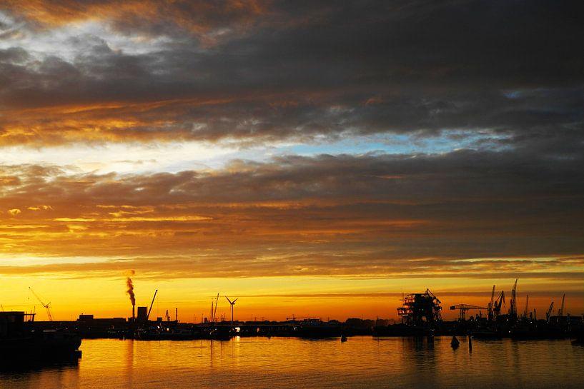 Sun Set @ Amsterdam van Rene Jacobs