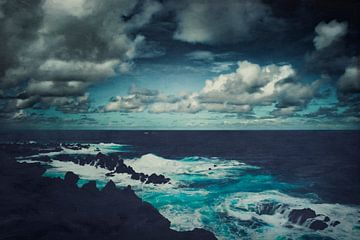 Wilder Atlantik Madeira  sur Dirk Wüstenhagen