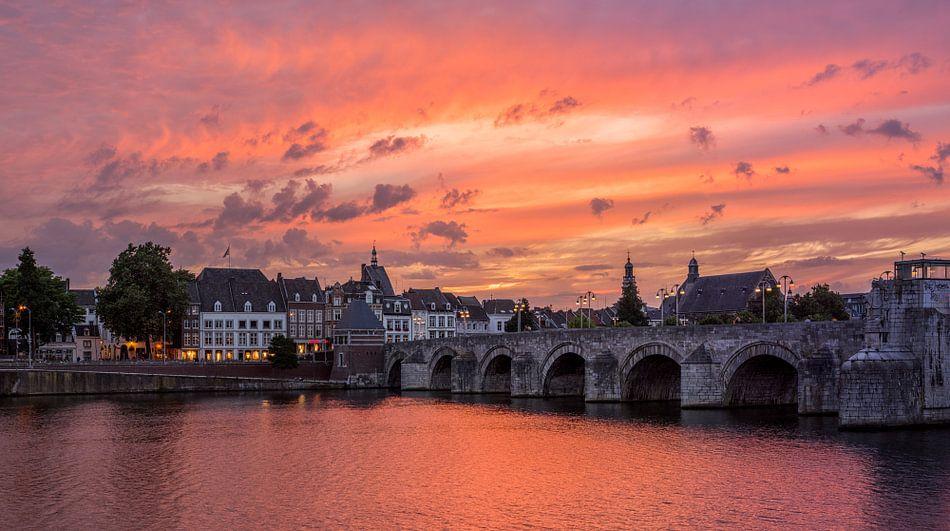 St.Servaos Brögk , Mestreech - Sint Servaas brug, Maastricht  van Teun Ruijters