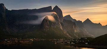 Hammarskaftet sunset panorama von Wojciech Kruczynski