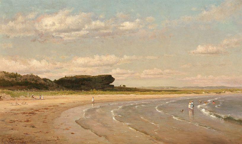 Worthington Whittredge Beach, Newport von finemasterpiece